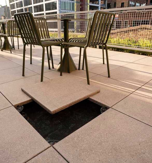 Herman Miller Outdoor Raised Access Floors