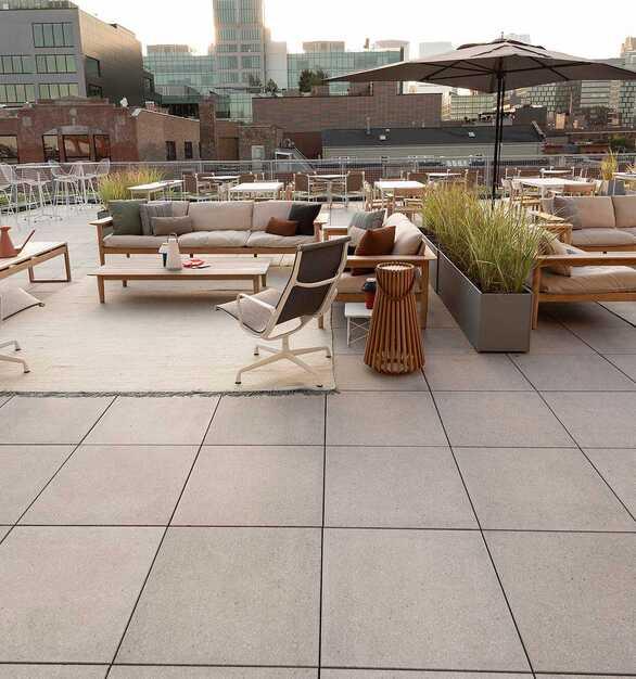 Herman Miller Chicago outdoor terrace