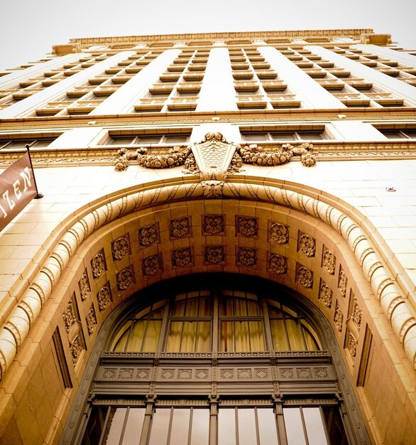 Admire the gorgeous historic architectural exterior at the Citizen Hotel.