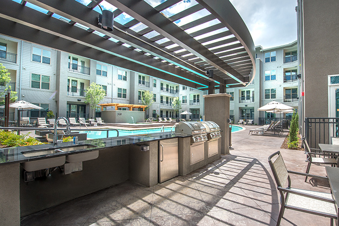 Overture is a unique community for 55+ active living with resort-inspired amenities and services, by HLR Architects.