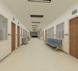 Hospital Corridor   Tamlyn   Recessed Base