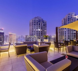 hospitality design roof top patio