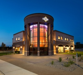 HTG Architects Granite Community Bank Exterior View