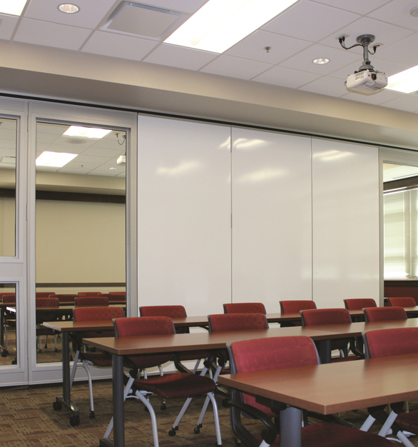 Select from a wide range of design options such as single or paired panels, work surface insets, inset pass doors including those that meet ADA requirements as well as custom glass options and trim finishes.