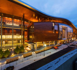 Hufcor Music City Center Curved Exterior Curtain Wall