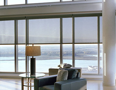 The W. L. Hall Company has provided window covering products on a number of multi-family residential and corporate projects. Hunter Douglas Contract offers innovative project window coverings and commercial window coverings, including roller shades, aluminum blinds, Duette honeycomb shades, Silhouette shadings, and more. Motorized shades and manual shades with a variety of FR shading fabrics, plus specialty shapes and options. Hunter Douglas Contract products are known for world-class engineering, versatility, and style.