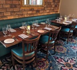 i2i Design La Nonna Restaurant Banquette