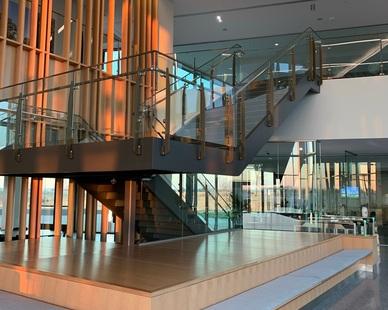 Livers Bronze Handrails- Custom Belmont Railing System