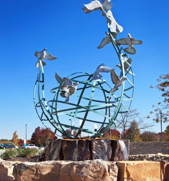 """View of """"Serenity"""" at Immanuel Medical Center in Omaha, Nebraska."""