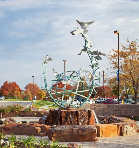 """""""Serenity"""" at Immanuel Medical Center in Omaha, Nebraska."""