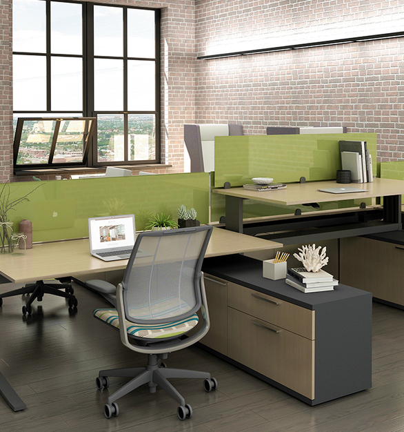 With the iMove-C Sit-Stand Desk your ability to change positions throughout your workday will have a profound impact on your productivity and well-being. And you will accomplish it in style too.