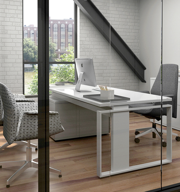 With the iMove-F Sit-Stand Desk your ability to change positions throughout your workday will have a profound impact on your productivity and well-being. And you will accomplish it in style too.