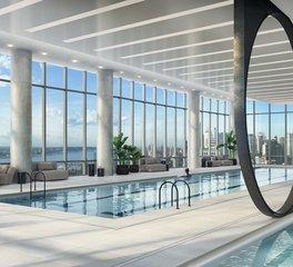Infiniti Drain 15 Hudson Yards New York Interior Aquatics Center Pool