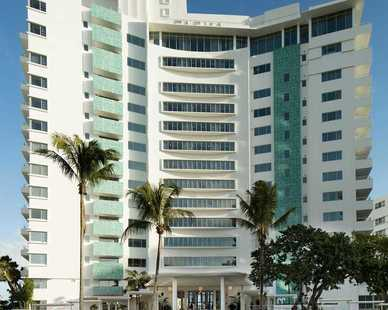 The Faena Hotel in Miami Beach has over 169 rooms with stunning views from each room.