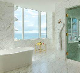 Infiniti Drain Faena Hotel Miami Beach Penthouse Restroom