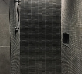 Infiniti Drain Rocket Mortgage FieldHouse Interior Bathroom Shower