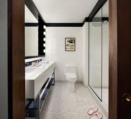 Infiniti Drain TWA Hotel at JFK interior bathroom