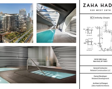 Case Study from Infiniti Drain for 520 West 28th in New York City.