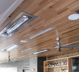 Infratech Target Field Stadium Bar Area Heating System