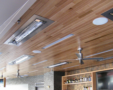 W-Series heaters are available in a range of colors, to coordinate with your interior or exterior environment. Choose from brushed stainless steel or eight standard color finish options. Message us for more information.