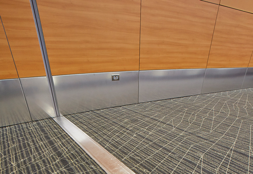 The renovation included extensive use of JointMaster® expansion joint systems by Inpro Corporation.