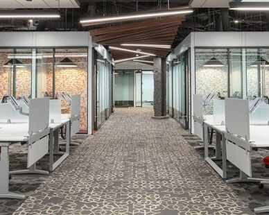 Cambridge, MA, Office designed by Fusion Design
