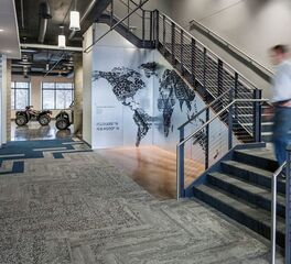 Interface Polaris Industries Modern Industrial Headquarters Design