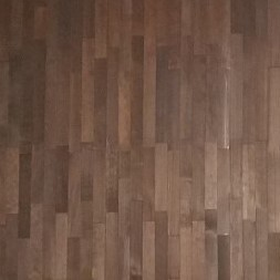 The beautiful wood panel is made by ASI.