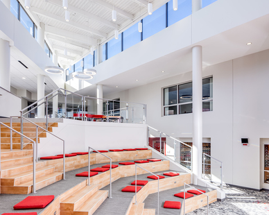 InUnison Design Benilde St. Margaret Addition Interior Design