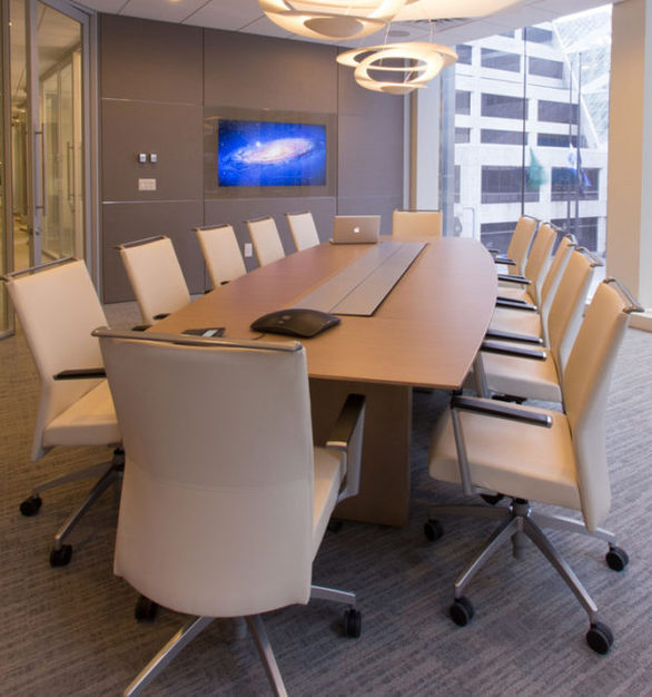 iSpace Environments provided the furnishings at Alerus Financial offices in Minneapolis, MN.