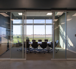 iSpace Environments Blue Star Power Systems Office Interior Design Mankato Minnesota Conference Room Glass Walls