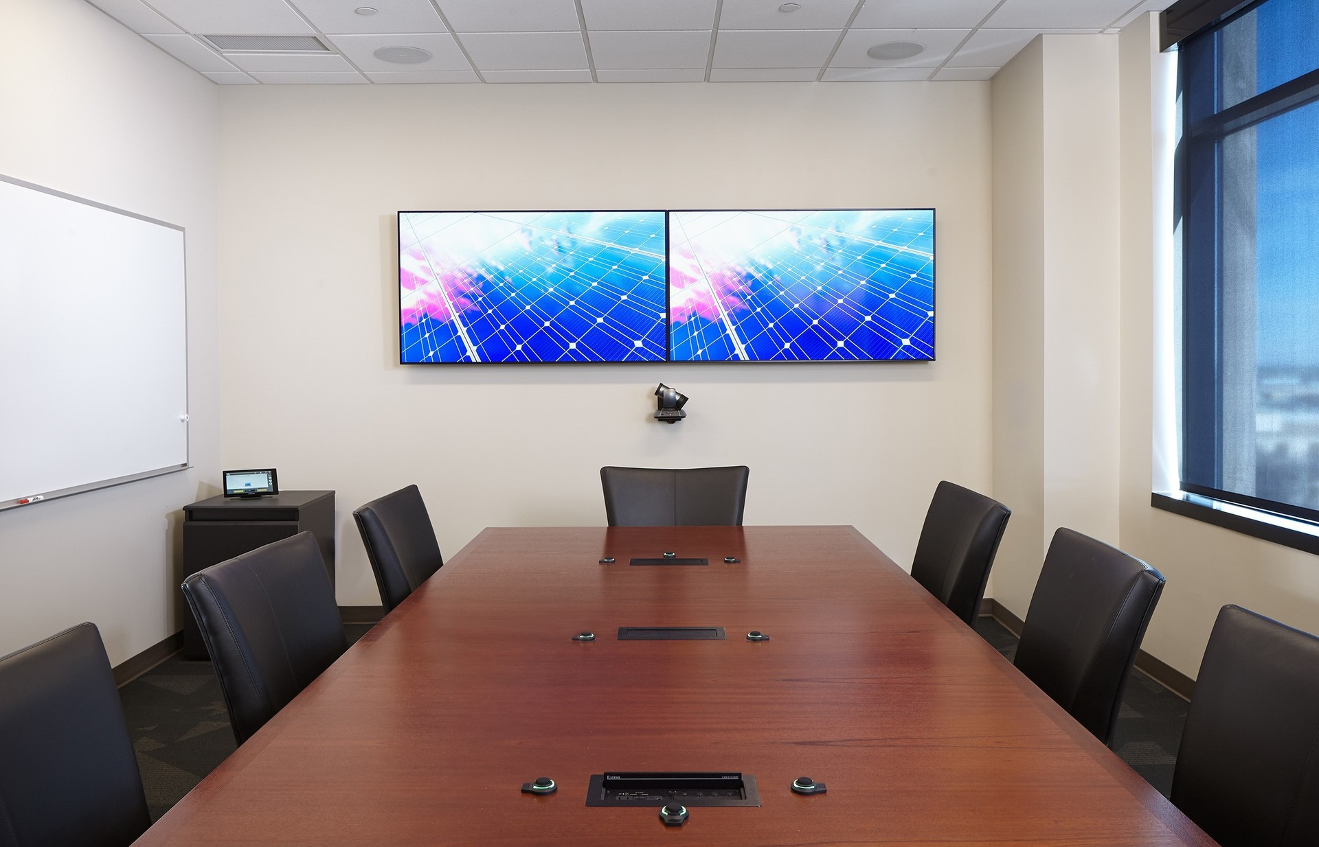 Modernize the conference and meeting room with AV solutions by iSpace Environments.