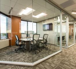 iSpace Environments ISG Bloomington Minnesota Office Corridor
