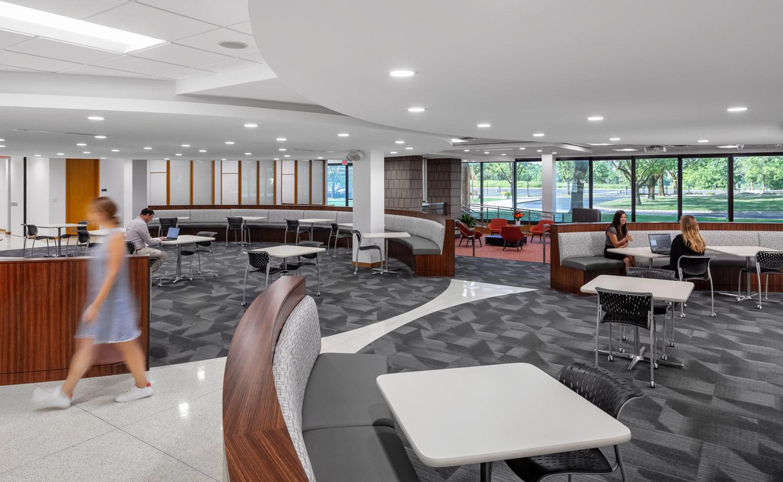 iSpace Environments Tennant Company Eden Prairie Minnesota Open Office Work Lounge Design