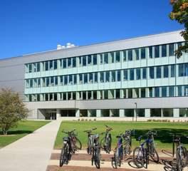 ISU Biorenewables Research Laboratory Exterior Stahl Construction