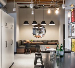 Jennifer Tulley Architects Jackson Square Office Space Design San Francisco California Break Room and Common Area