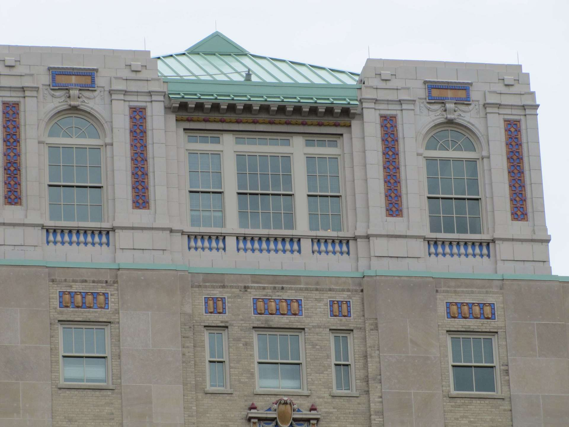 St. Cloud Window supplied over 1,100 windows in the effort to restore the Residences at the John Marshall  in Richmond, Virginia.