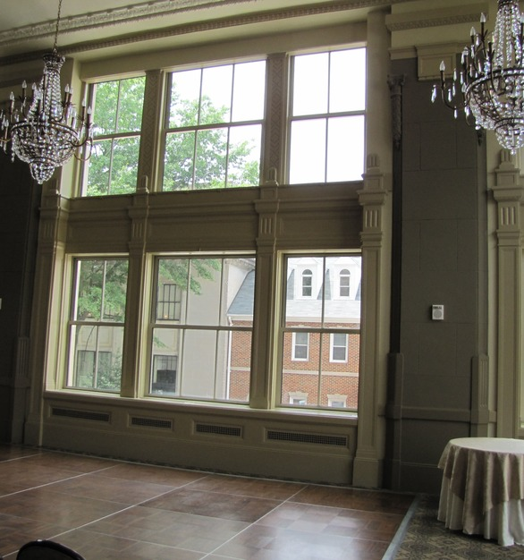 This landmark structure was refurbished and re-opened as The Residences at the John Marshall with the aid of SCW5000 and SCW2500 Series windows.  The narrow-line fixed and projection windows have won approval by U. S. Department of Interiors, National Park Service, as steel replication window matching historic sightlines and frames dimensions, which is key for projects the John Marshall to received historic tax credits.