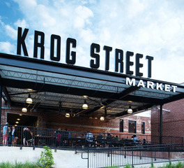 Jordan and Skala Engineers Krog Street Market Exterior Signage