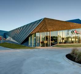 Jordan & Skala Engineers Legacy ER Healthcare Modern Roofing Design