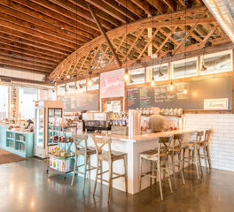 Josiah's Coffeehouse & Café Service Counter, CO-OP Architecture