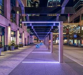 JTH Lighting Alliance Nicollet Mall Avenue Walkway Lighting
