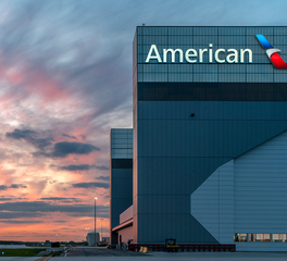 Kalwall american airlines o'hare hangar 2 exterior