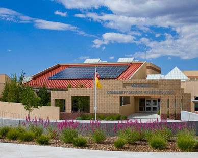 The Amy Biehl Community School, a K-6 school in the public school system of Santa Fe, New Mexico, does more than help students learn how to be environmentally conscious. It helps them live it