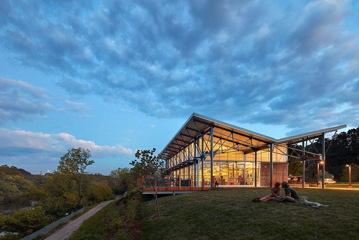 The goal of creating a culture that is true to New Belgium's mission is what made Kalwall® translucent sandwich panels such a prominent feature of the company's brewery in Asheville, N.C.