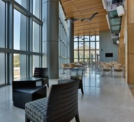 KCCT Architects United States Embassy Ezulwini Swaziland Lobby and Common Area