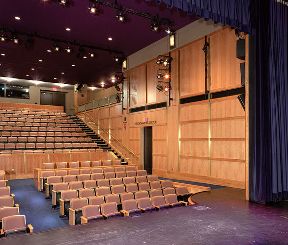 St. Cloud Window was tasked to supply fixed interior windows with an acoustic sound performance of STC53 or higher on the John F. Kennedy Center for the Performing Arts - Family Theatre and St. Cloud's Series 960-A7 met the requirements for this project.