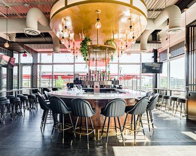 Kim Lewis Designs Torchy's Restaurant Design