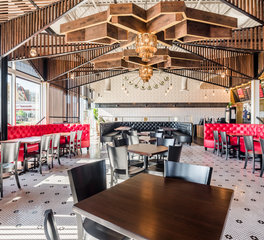 Kim Lewis Designs Restaurant Design Torchy's Tacos Highlands Ranch Interior Design