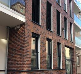 King Klinker Apartment Building Thin Brick Facade